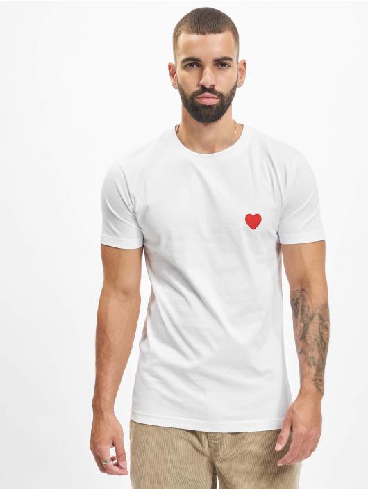 Mister Tee T-Shirt Heart white