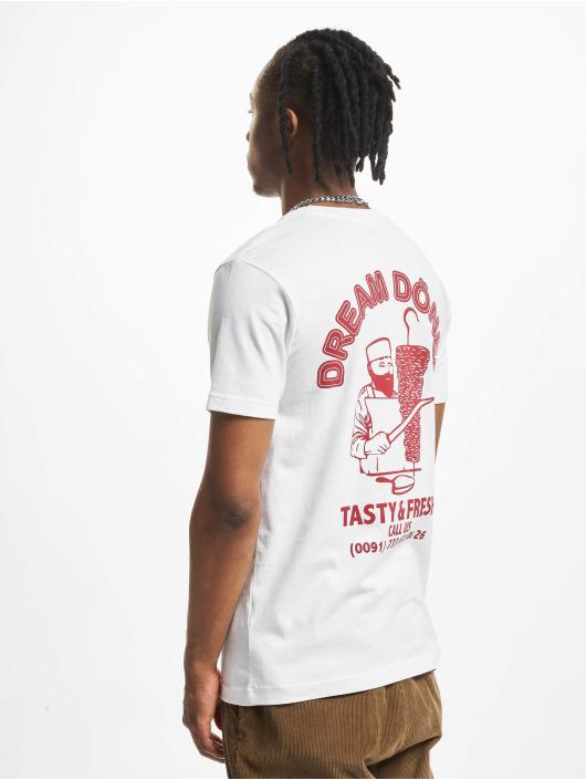 Mister Tee T-Shirt Dream Döner white
