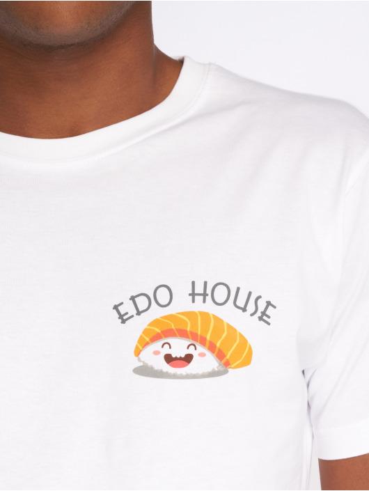 Mister Tee T-Shirt Edo white