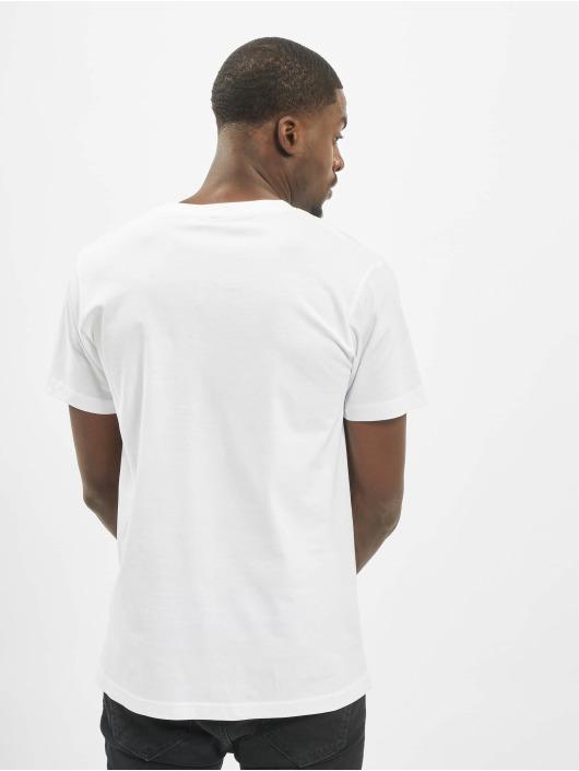 Mister Tee T-Shirt Fu Sign Language white