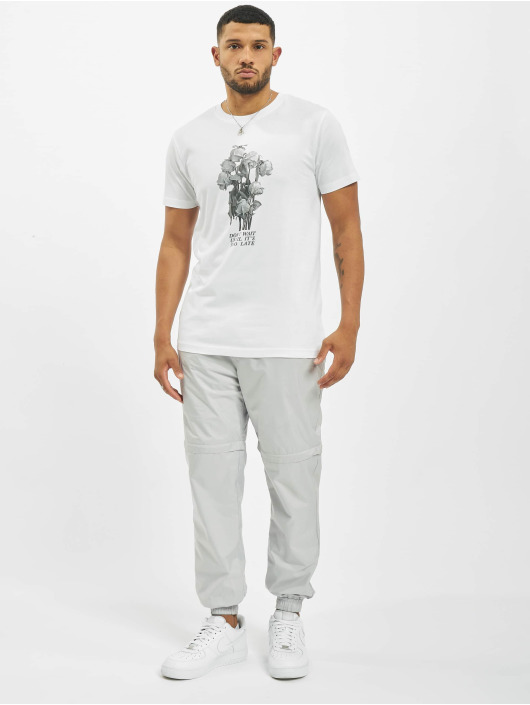 Mister Tee T-Shirt Don´t Wait Rose white