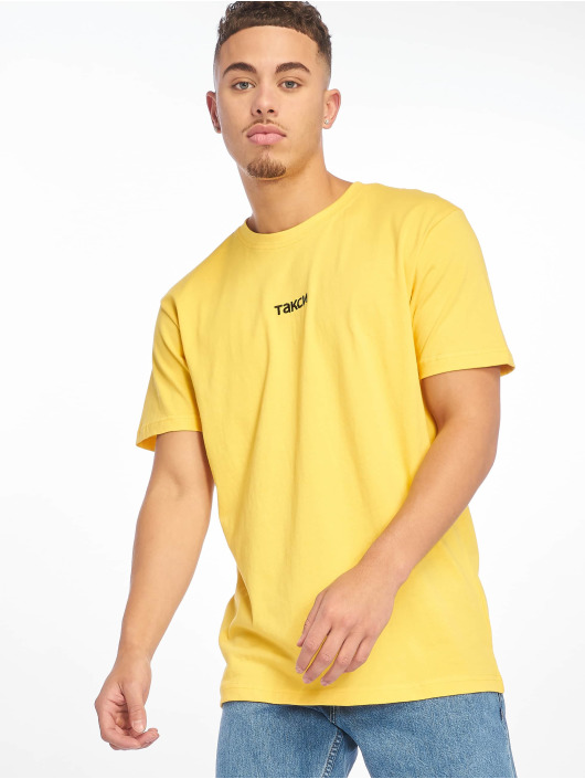 Mister Tee T-Shirt Taxi yellow
