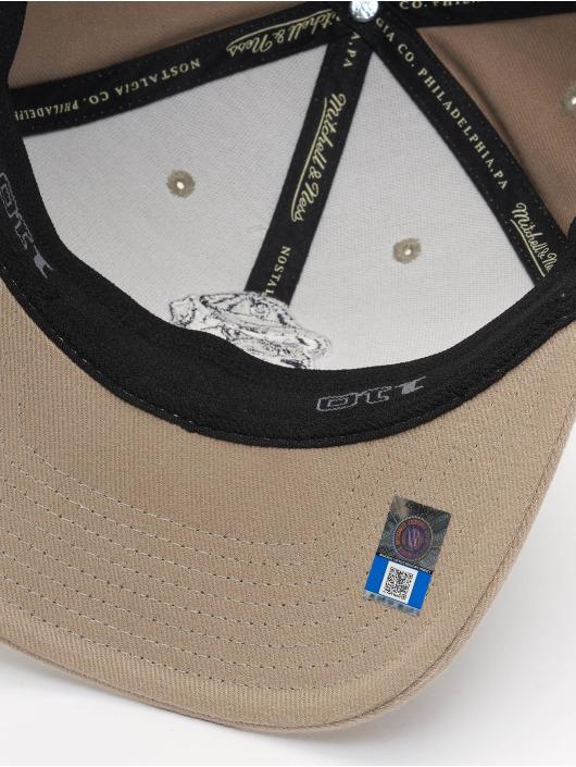 Mitchell & Ness Snapback Cap NCAA Snapback Low Pro Team Logo beige