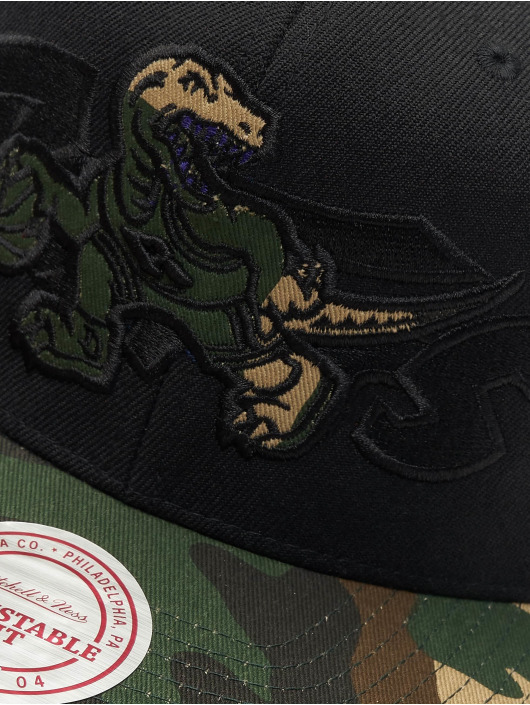 Mitchell & Ness Snapback Cap Woodland Toronto Raptors Blind black