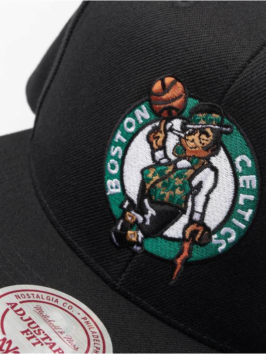 Mitchell & Ness Snapback Cap NBA Boston Celtics Wool Solid black