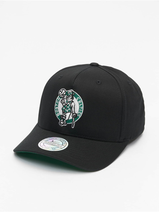 Mitchell & Ness Snapback Cap NBA Boston Celtics Team Logo High Crown 6 Panel 110 black