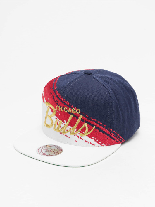 Mitchell & Ness Snapback Cap Independence Chicago Bulls blue