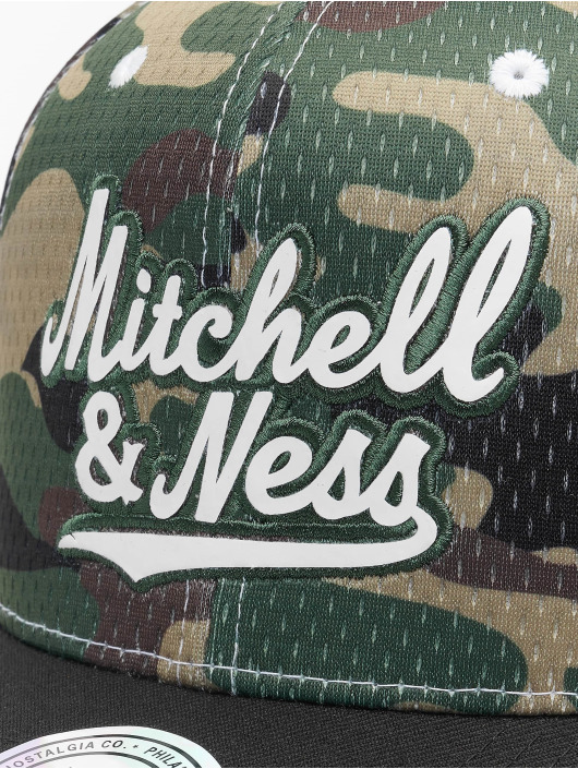 Mitchell & Ness Snapback Cap Mesh Camo camouflage