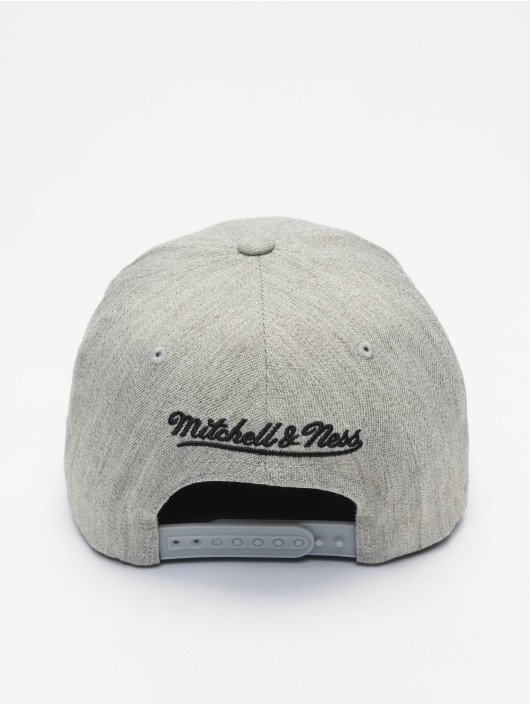Mitchell & Ness Snapback Cap NBA Blk/Wht Logo 110 La Lakers gray