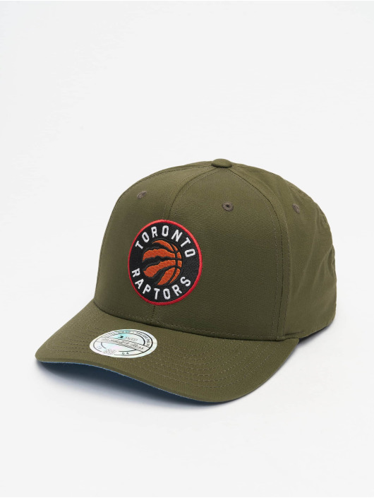 Mitchell & Ness Snapback Cap NBA Battle Toronto Raptors green