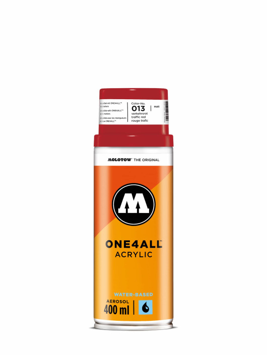 Molotow Spray Cans One4All Acrylic Spray 400 ml red