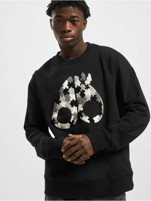 Moose Knuckles Pullover Hollyrood Bay black