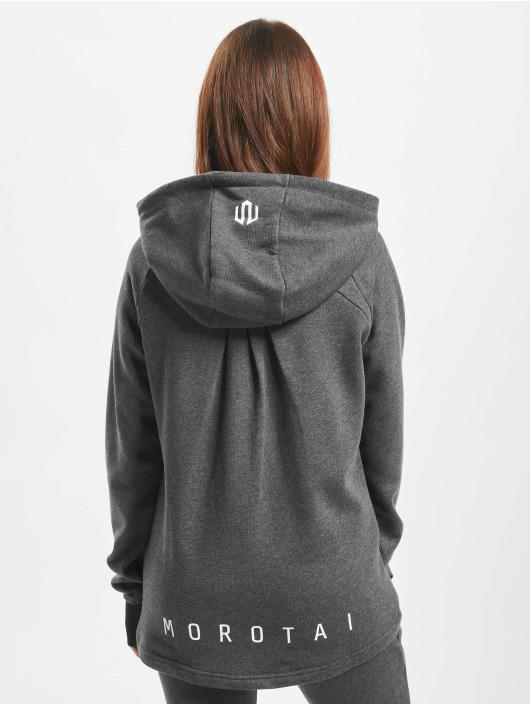 MOROTAI Zip Hoodie Naka Comfy Performance gray