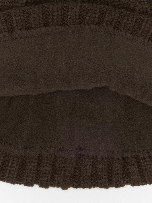 MSTRDS Hat-1 Cable Flap brown