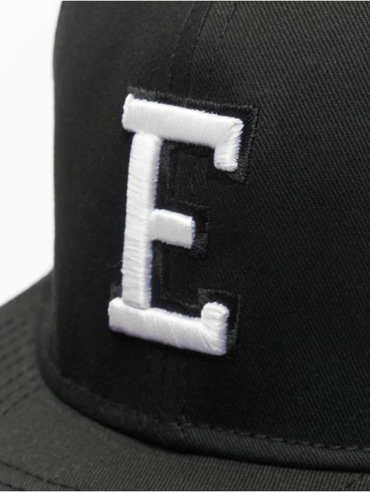 MSTRDS Snapback Cap E Letter black