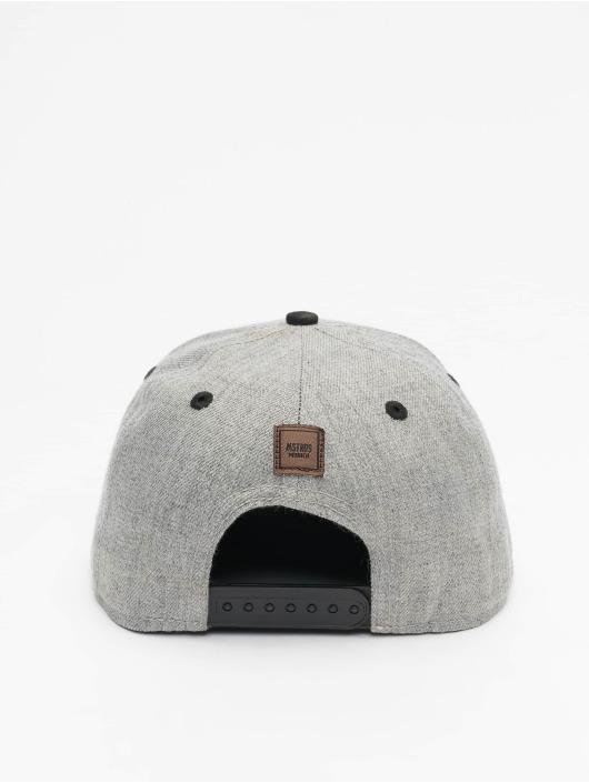 MSTRDS Snapback Cap B Letter gray