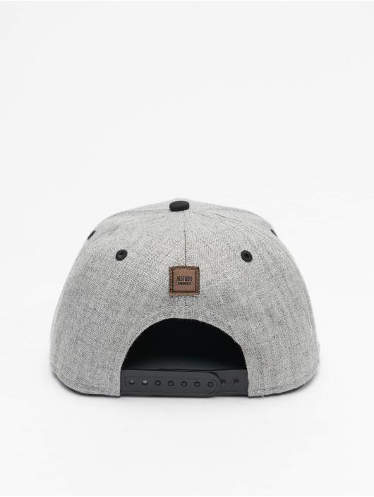 MSTRDS Snapback Cap T Letter gray