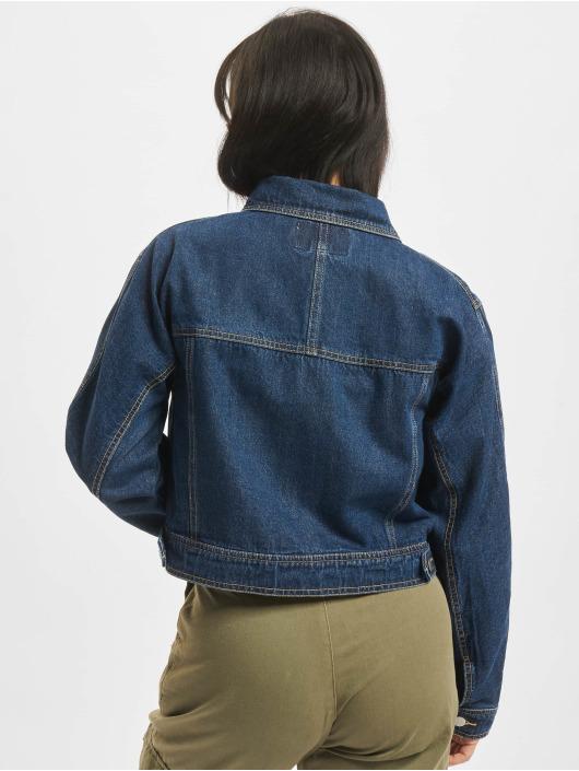 NA-KD Denim Jacket Short blue