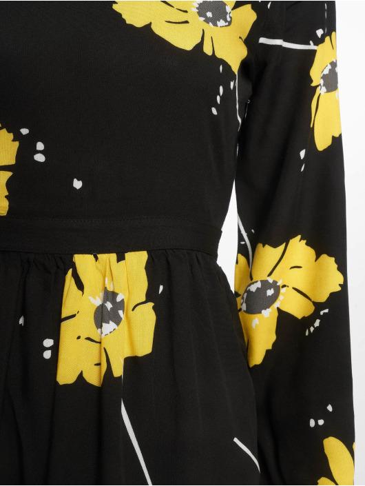 NA-KD Dress Wide Cuff Balloon Sleeve black