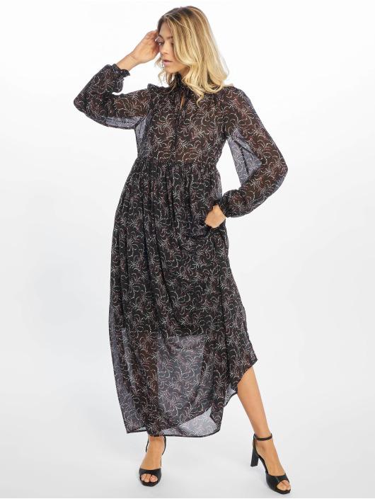 NA-KD Dress Floral Printed black