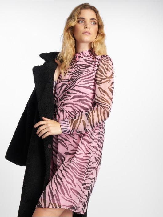 NA-KD Dress High Neck pink