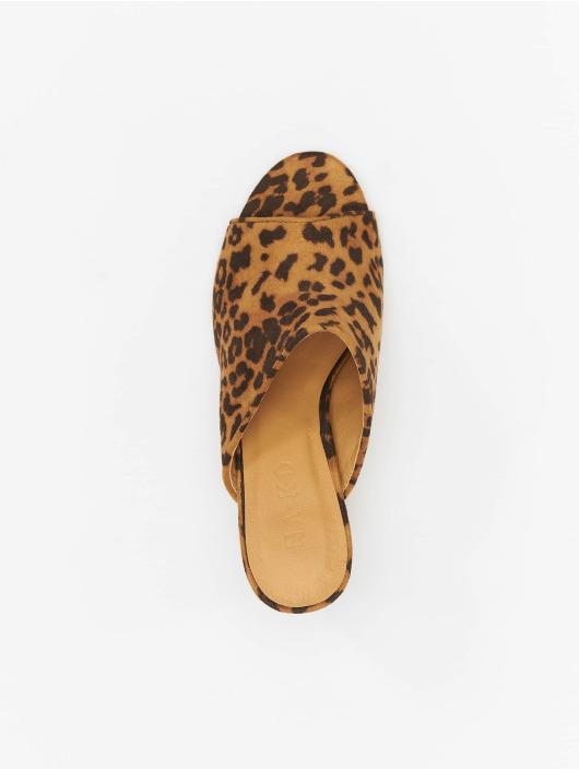 NA-KD Sandals Leopard brown