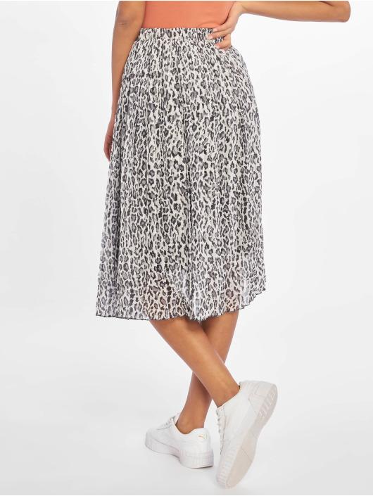 NA-KD Skirt Midi Pleated gray
