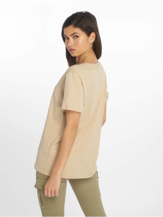 NA-KD T-Shirt Nude beige