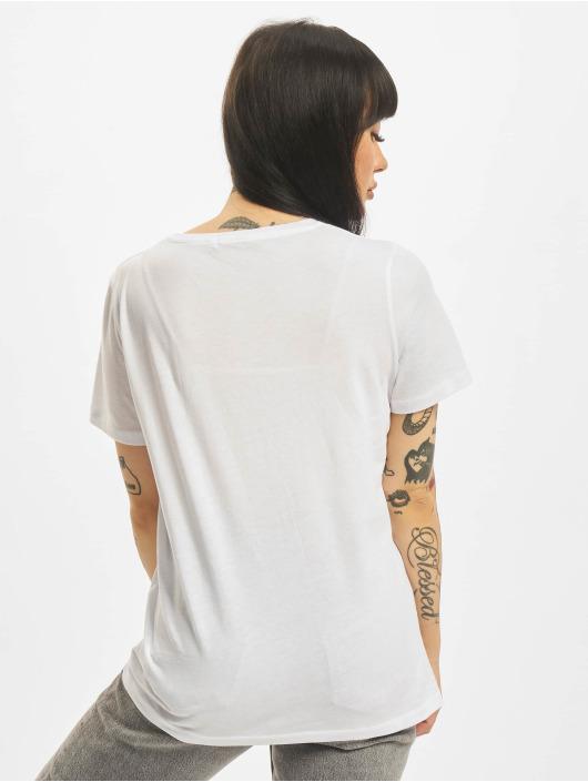 NA-KD T-Shirt Try Again white