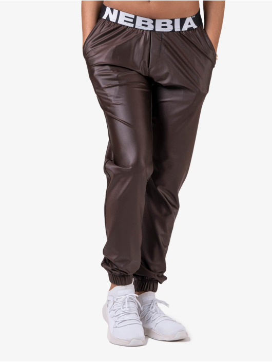 Nebbia Sweat Pant Metallic brown