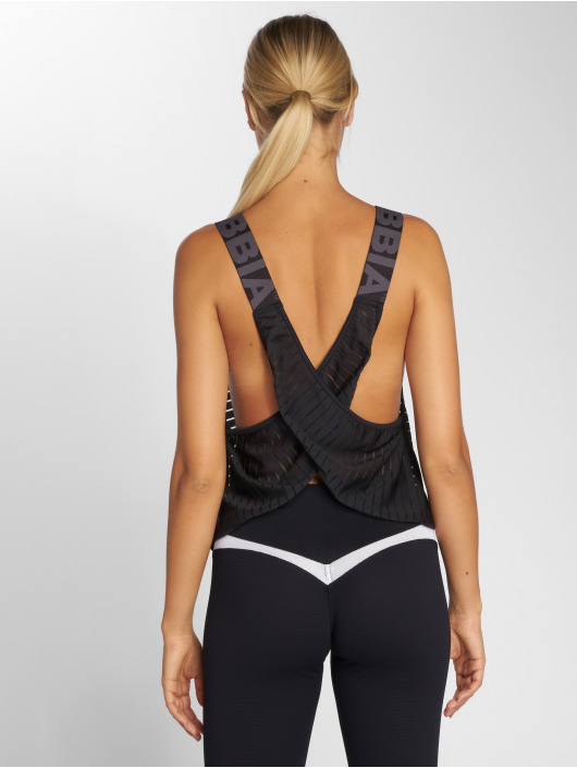 Nebbia Top Wrap Up black