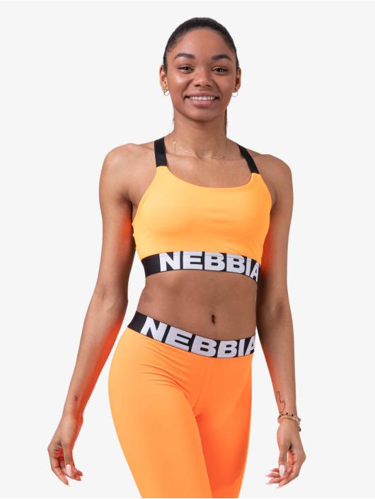 Nebbia Top Fitness orange