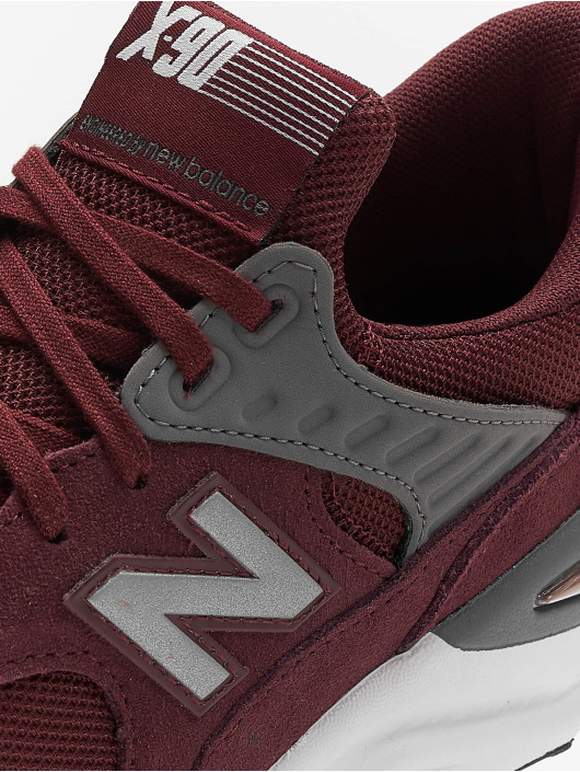 New Balance Sneakers X 90 red