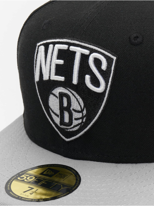 New Era Fitted Cap NBA Basic Brooklyn Nets 59Fifty black