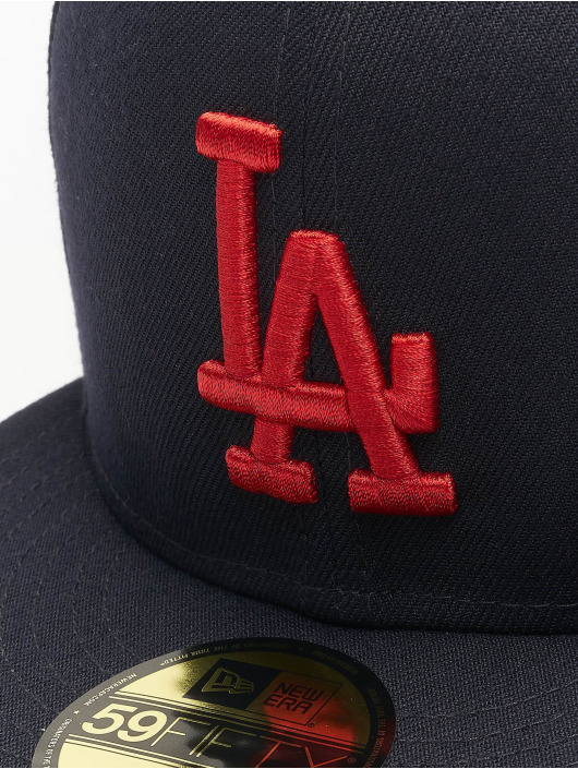 New Era Fitted Cap MLB LA Dodgers League Essential blue