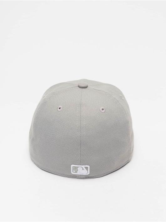 New Era Fitted Cap MLB Basic LA Dodgers 59Fifty gray