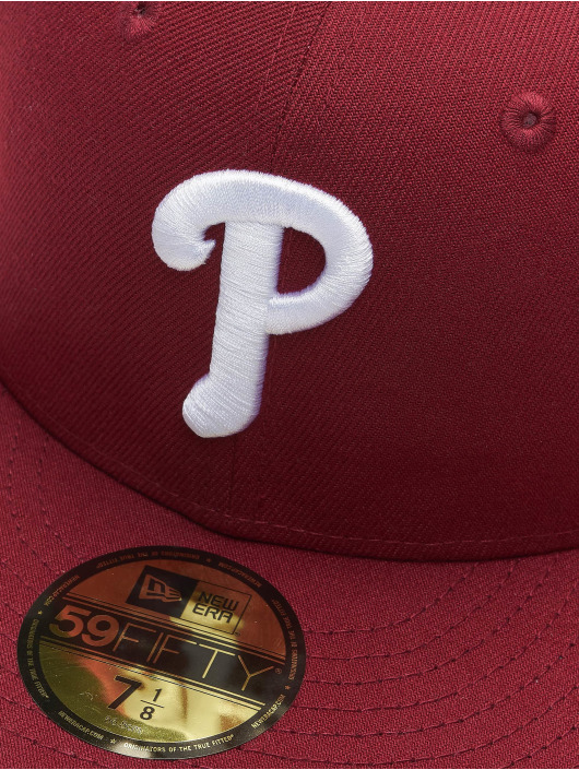 New Era Fitted Cap MLB Philadelphia Phillies Retro Sports 59Fifty red