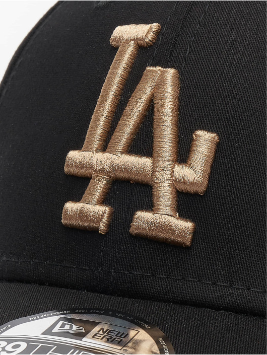 New Era Flexfitted Cap MLB Los Angeles Dodgers League Essential 39thirty black