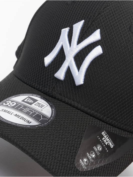New Era Flexfitted Cap MLB NY Yankees Diamond Era 39thirty black