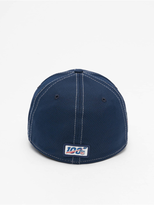 New Era Flexfitted Cap NFL New England Patriots Onfield Road 39Thirty blue