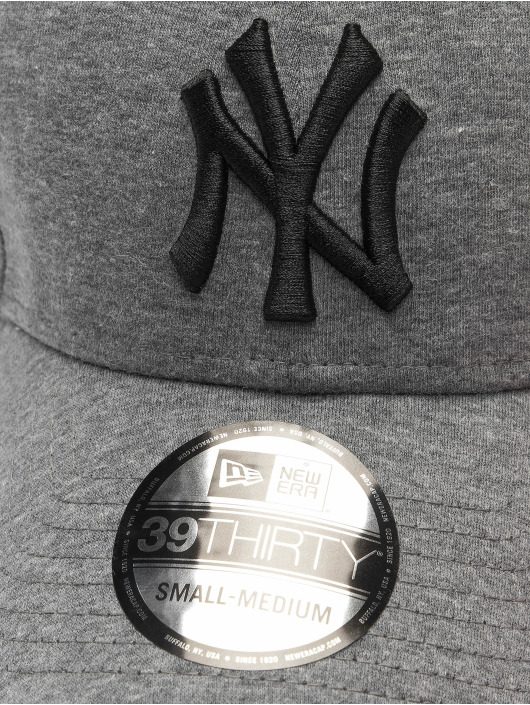 New Era Flexfitted Cap MLB NY Yankees Jersey Essential 39Thirty gray