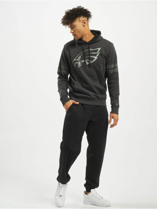 New Era Hoodie NFL Philadelphia Eagles Tonal black