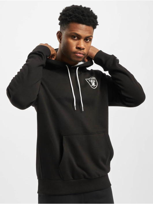 New Era Hoodie NFL Oakland Raiders CHST PRNT TM Logo black