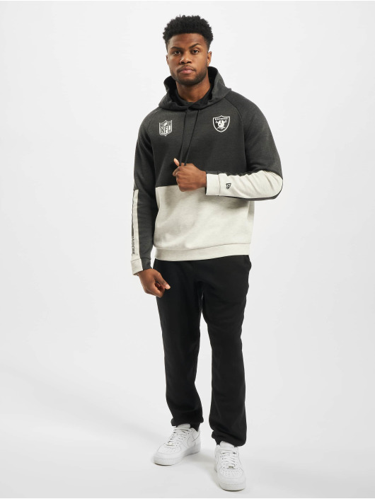New Era Hoodie NFL Oakland Raiders Colour Block gray