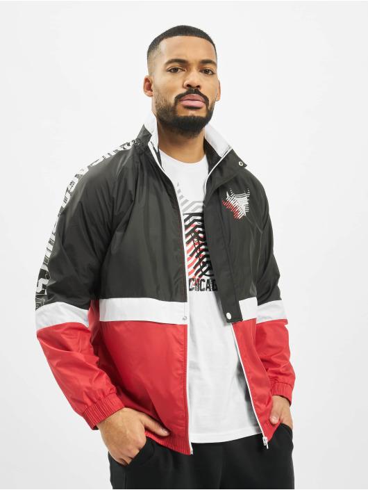 New Era Lightweight Jacket NBA Chicago Bulls Colour Block black