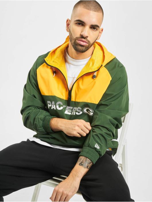 New Era Lightweight Jacket NFL Green Bay Packers green