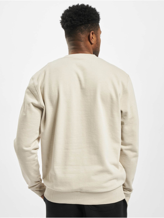 New Era Pullover Script beige