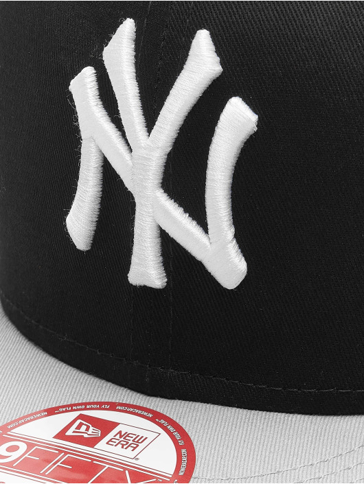 New Era Snapback Cap MLB Cotton Block NY Yankees black