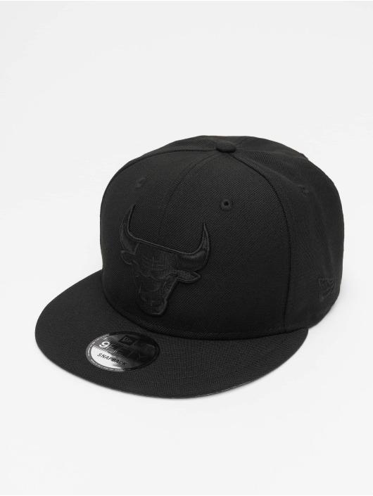 New Era Snapback Cap NBA Chicago Bulls black
