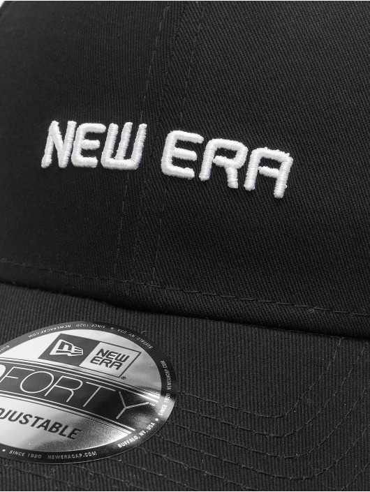 New Era Snapback Cap Essential 9Forty black